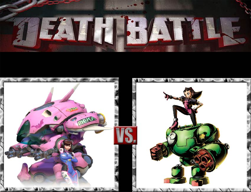 Request #144 D.va vs Tron Bonne by LukeAlanBundesen