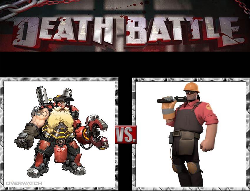 Request #145 Torbjrn vs Engineer by LukeAlanBundesen