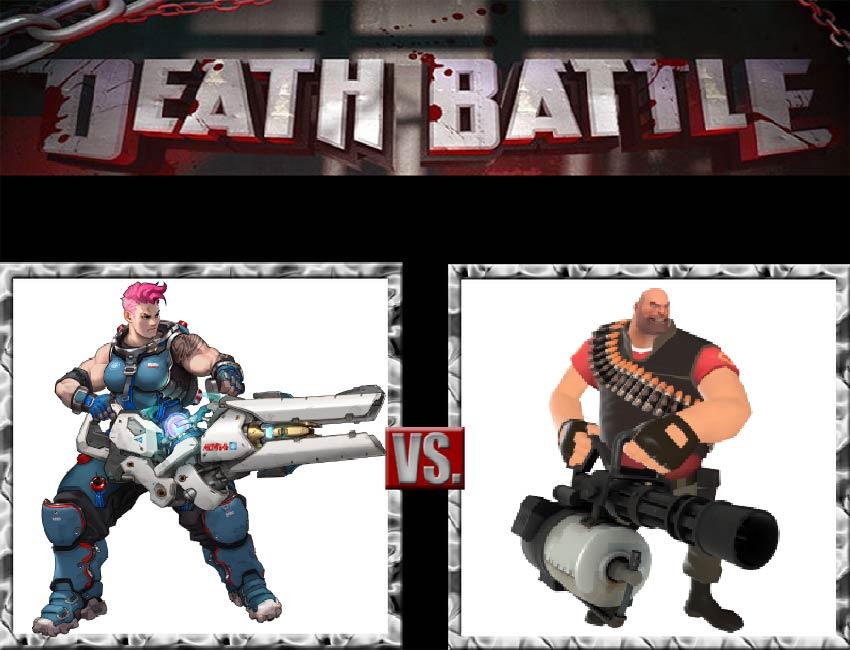 Request #147 Zarya vs Heavy by LukeAlanBundesen