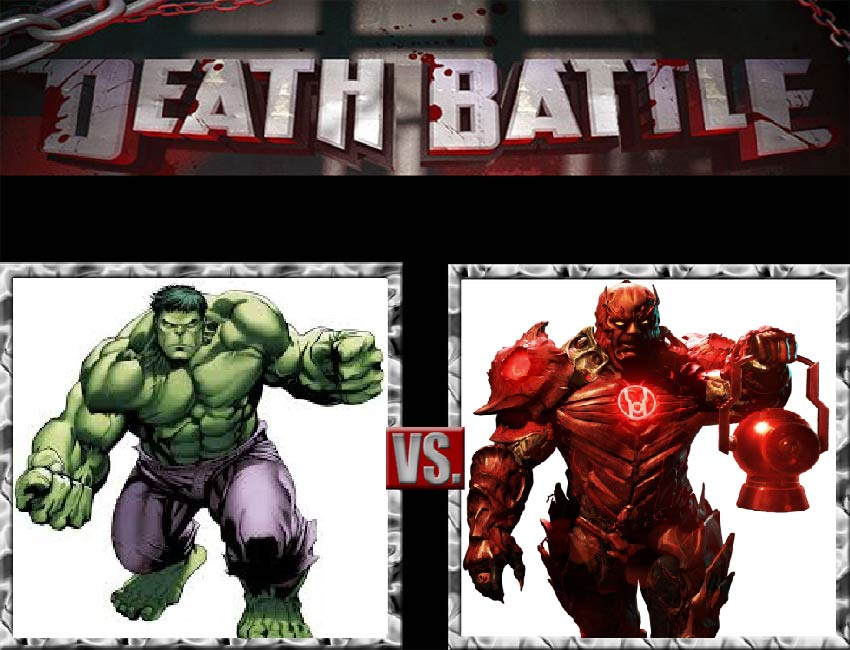 Request #153 Hulk vs Atrocitus by LukeAlanBundesen
