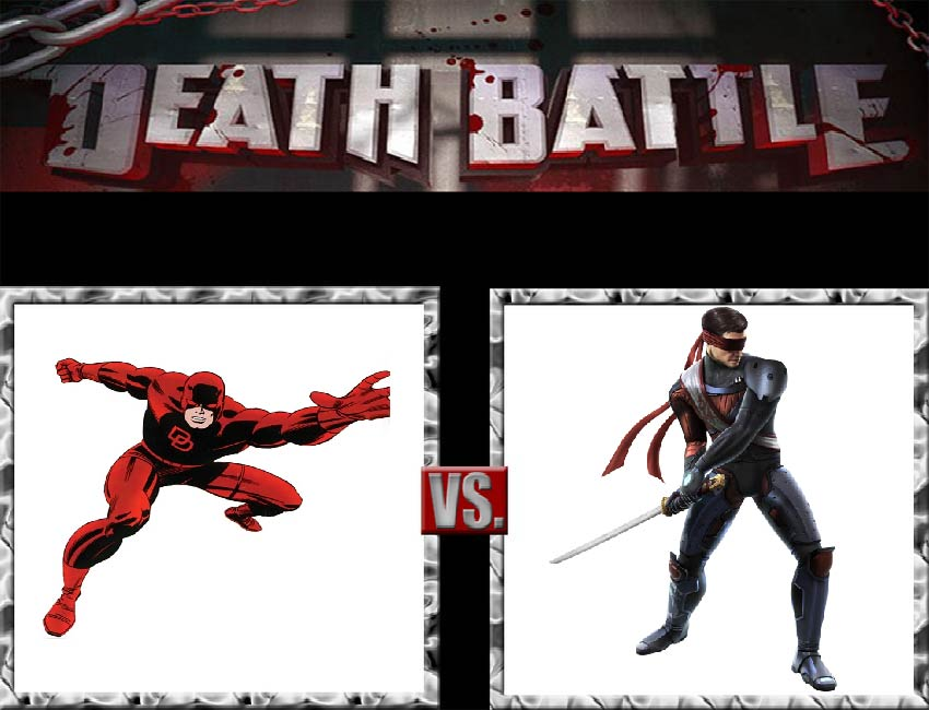 Request #156 Daredevil vs Kenshi by LukeAlanBundesen