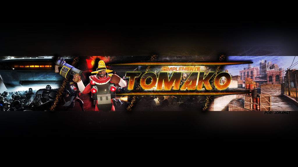 Plantilla base para banner youtube by SrJohanGT on DeviantArt