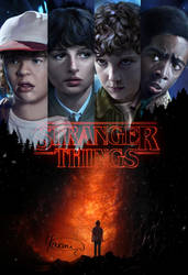 Stranger Things by Yasmine-Arts