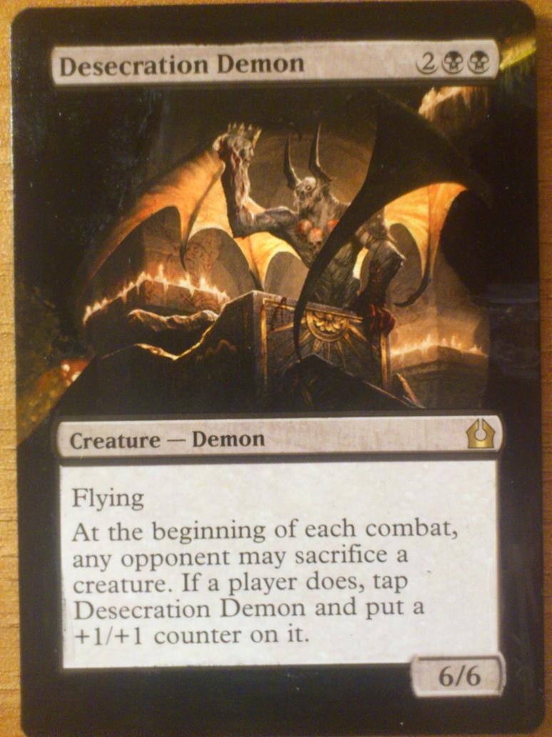 desecration demon wallpaper - photo #1