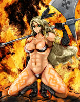 Dragons Crown Amazon by yagio-socho