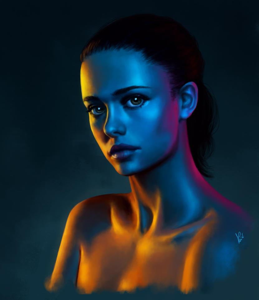 Portrait study by MKmiec