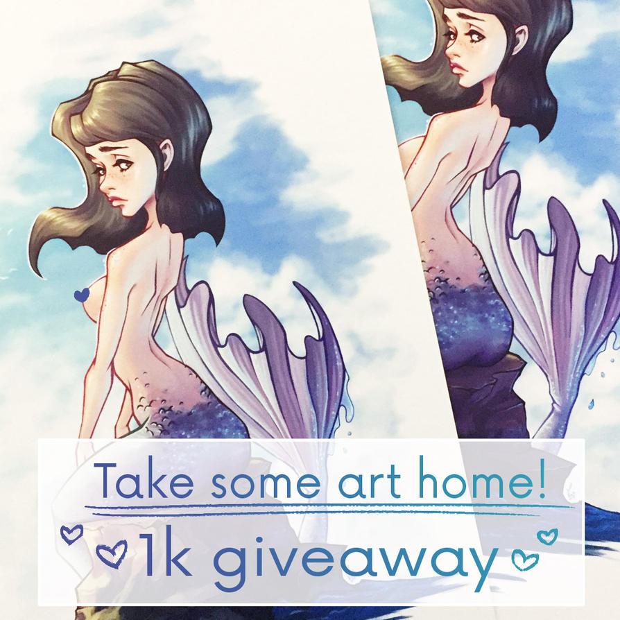 Instagram art giveaway! by MKmiec