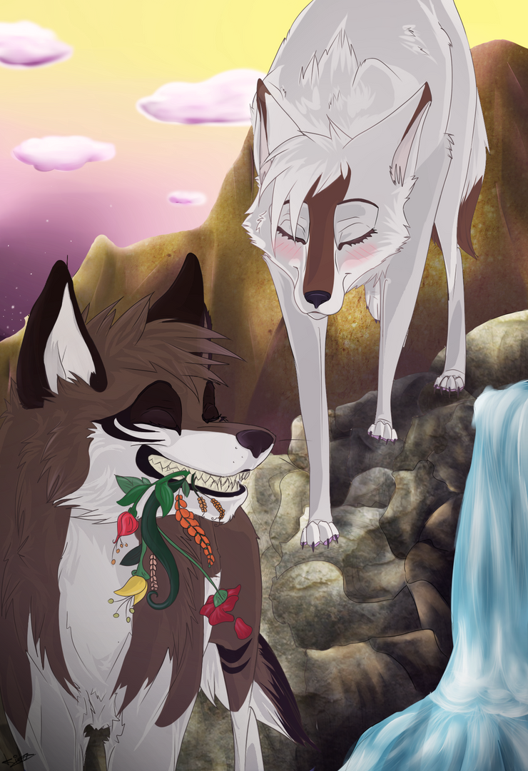 One Two Three Anime vs Wolves - YouTube  Two Wolves In Love Anime
