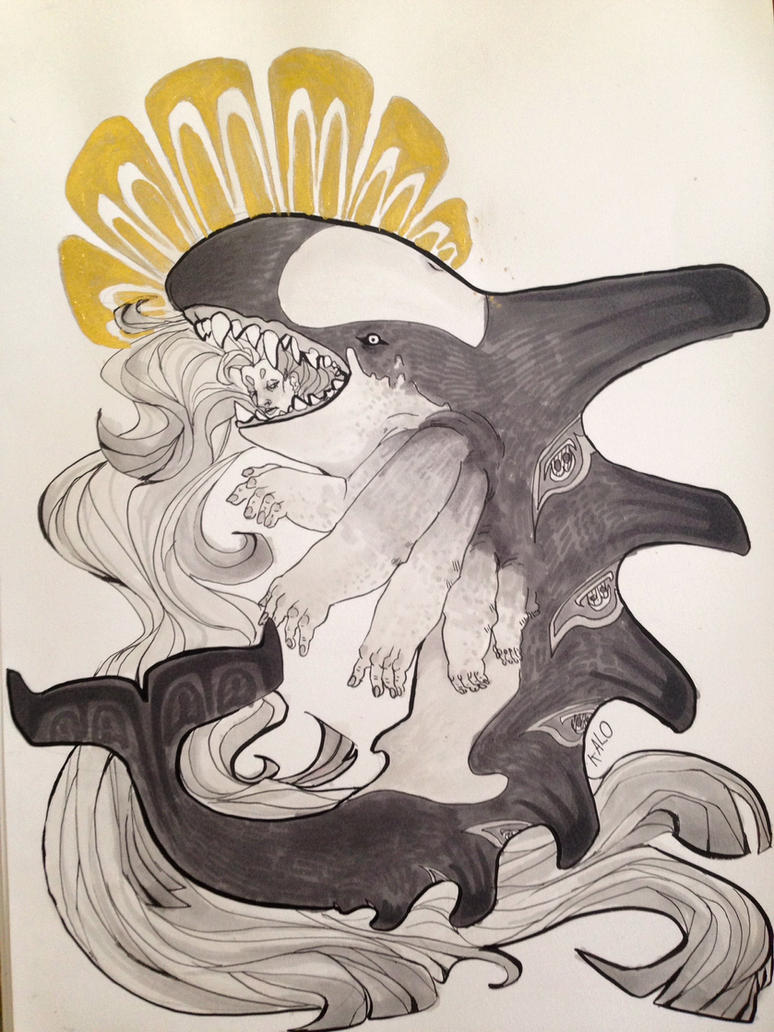 a whale of a tale ini by Schakalo