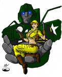 Lady Jaye and Hound