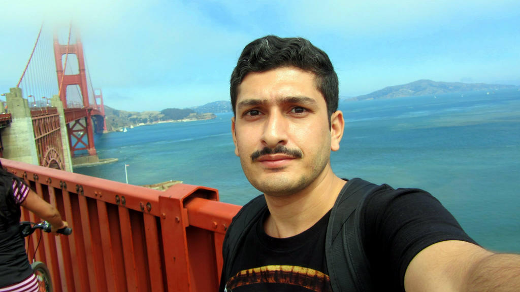 At the Golden Gate by siddharth-singh