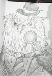 Mr Owl - el senior Buho