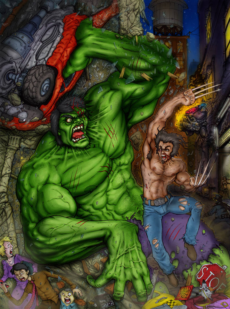 Hulk VS Wolverine FINAL