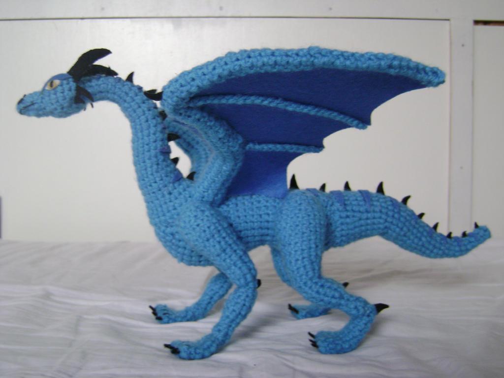 Crochet Dragon Luind 2 by xXShilowXx on DeviantArt