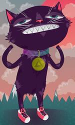 cat guy by MisterISK