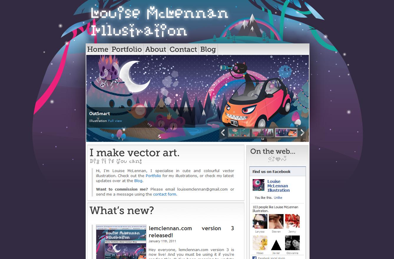 lemclennan.com version 3 by MisterISK