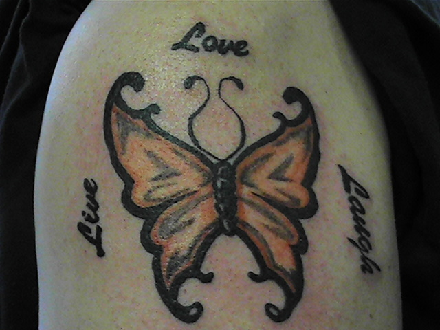 Live Love Laugh by PurpleFrogTattoo
