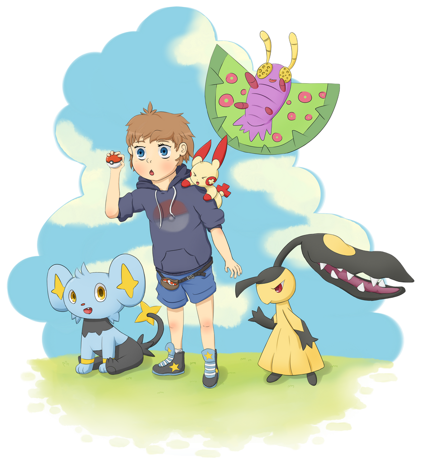 Cute PokeTrainer by Tochuri