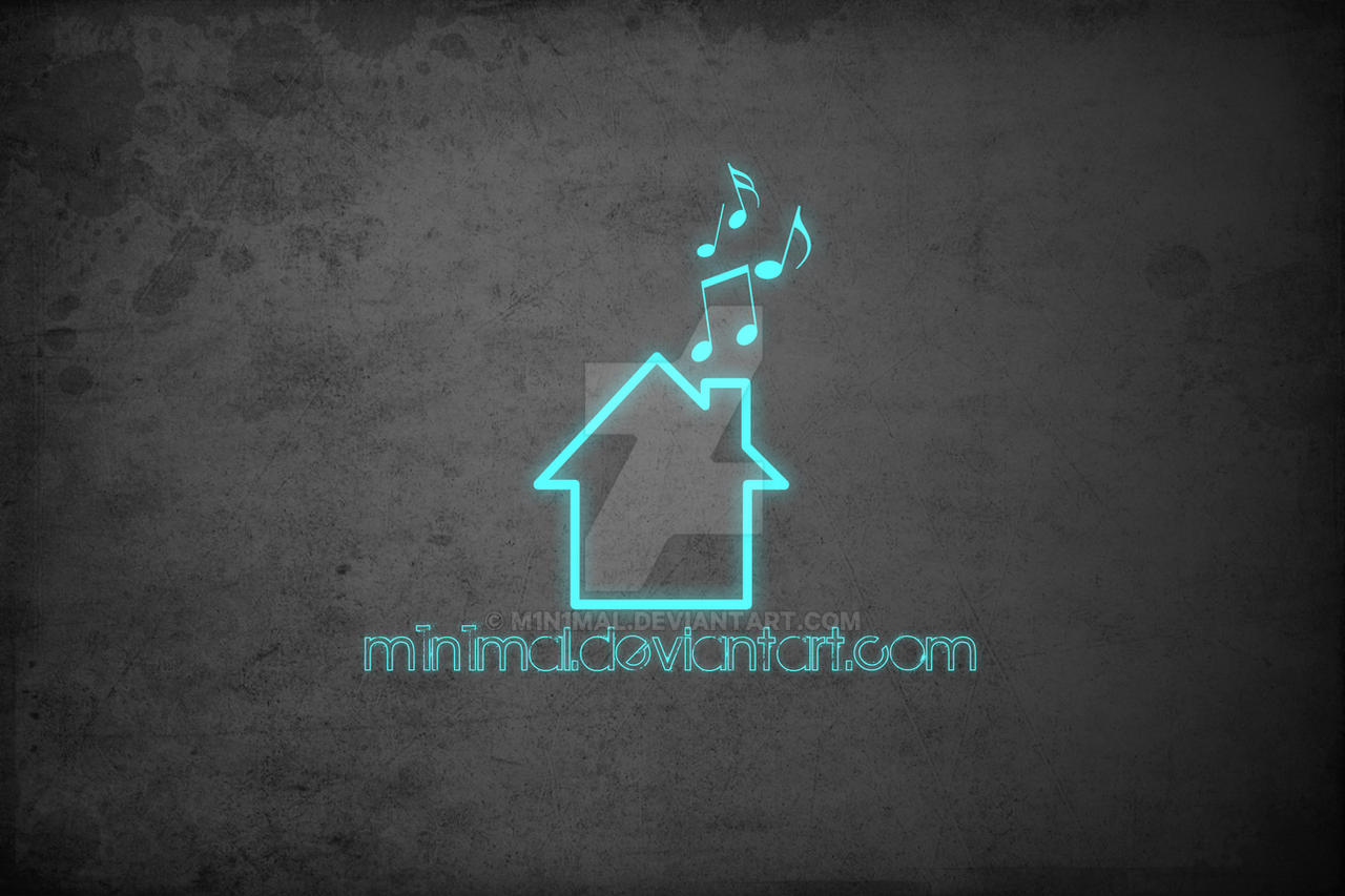 Simple Wallpaper Music Deviantart - simple_house_music_wallpaper_by_m1n1mal-d2nyt55  Picture_433463.jpg