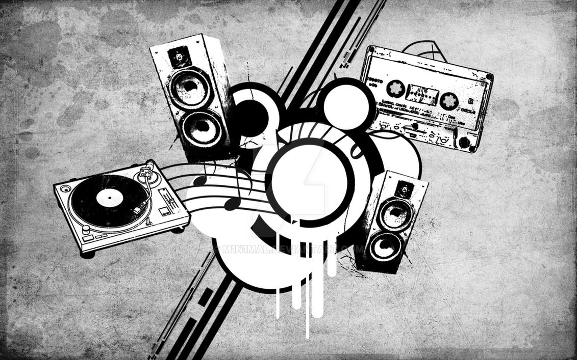 Music Wallpaper 2 By M1n1maL