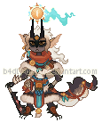 Augustine Pixel (browbird) by b4dly-dr4wn