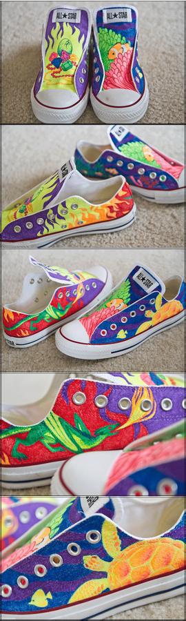 caitlyn's custom kicks