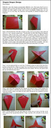 Origami Dragon - Instructions by DonyaQuick