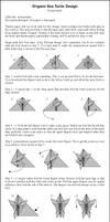 Origami Sea Turtle Instr.