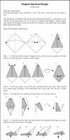 Origami Narwhal Instructions
