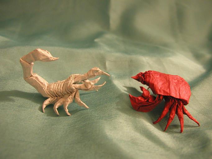 Crab vs. Scorpion