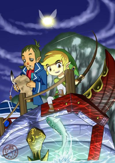 Zelda: Phantom Hourglass by Dayu