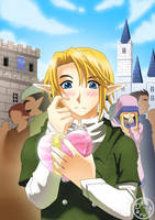 The Legend of Zelda Valentine by Dayu