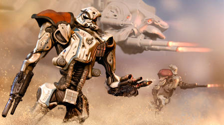 Sand trooper Mech by Ivanuss