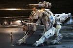 Jaguar Mech -military version-