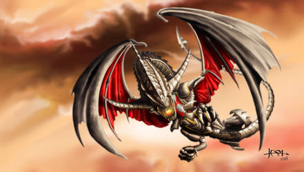 Steam dragon by Ivanuss