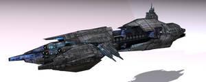 Satarack Battlecruiser by Ivanuss