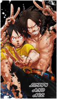 Luffy And Ace Avatar by Beckem88