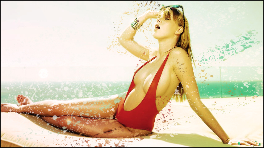 --Galeria de DZ-- Woman_with_red_swimsuit_by_beckem88-d369822
