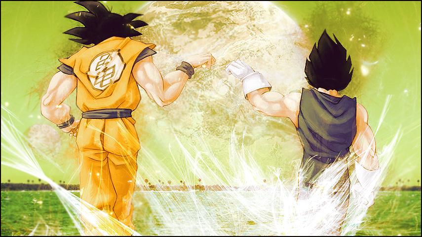 --Galeria de DZ-- Goku_and_vegeta_wallpaper_by_beckem88-d3bn2pe