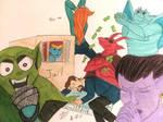 Gargoyles Monopoly by BreezerBri23