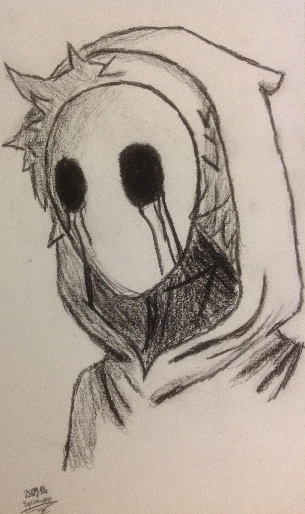 Eyeless Jack Drawing By Crazy2dragons On Deviantart