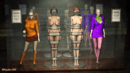 Daphne and Velma: Trophy Case by hojojitsu