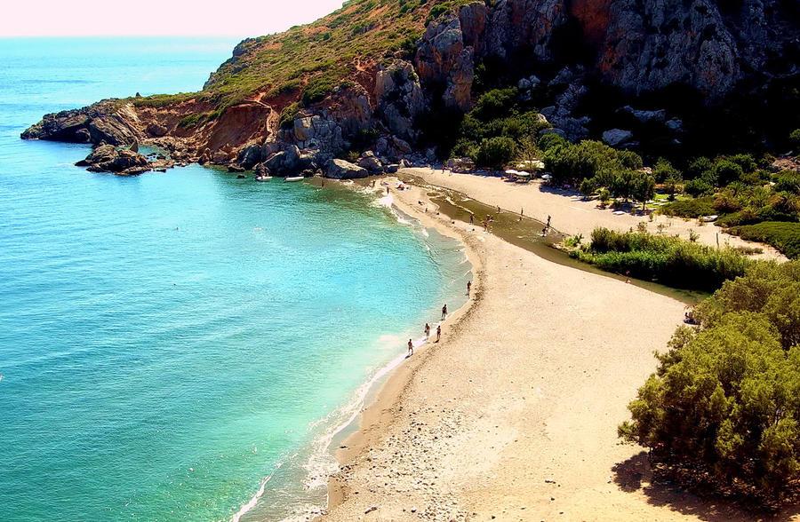 Preveli Beach - Crete - Greece by gzacharioudakis