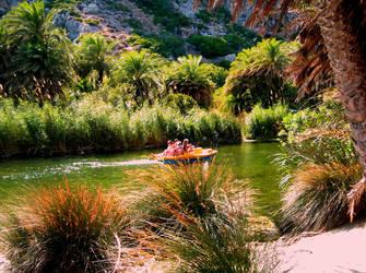 Preveli river - Crete - Greece by gzacharioudakis