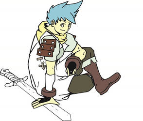 Original art of Bof 2 (Ryu) by outhline