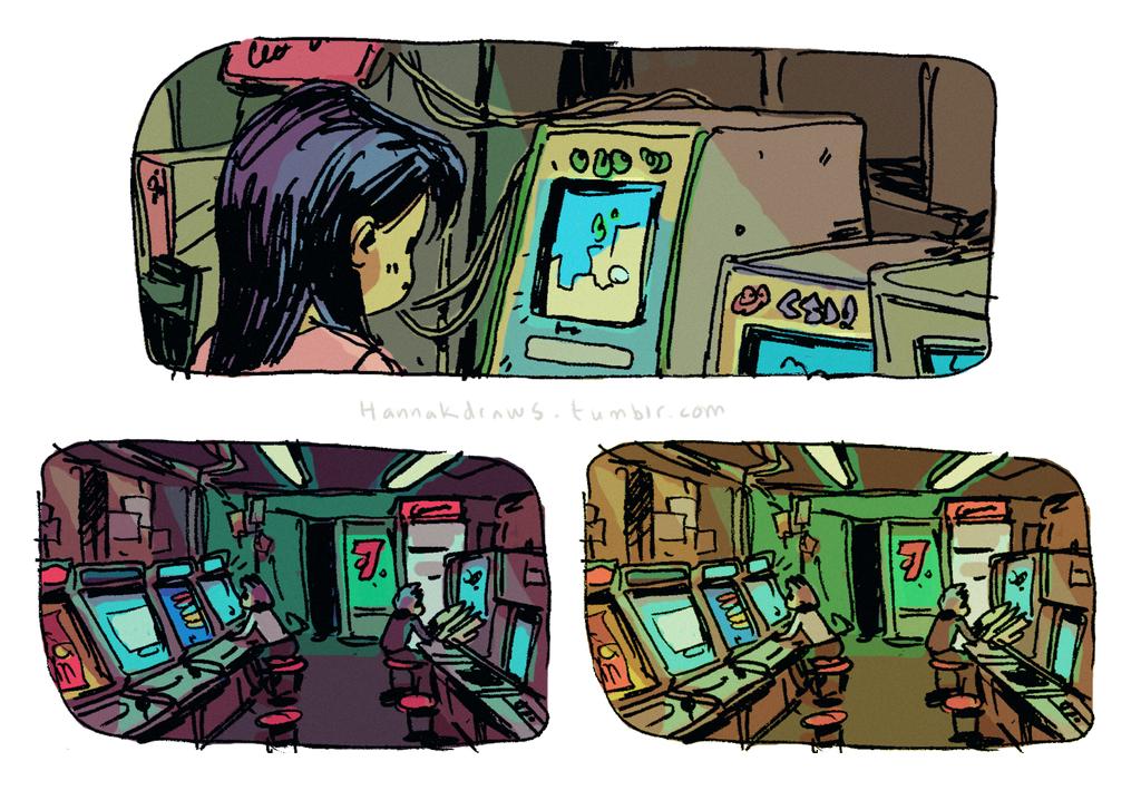 Arcade Hall by HannaKN