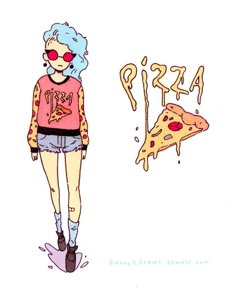 Pizza Fashion by HannaKN