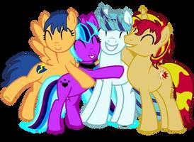 Hugs, Hugs, Hugs! by serennarae