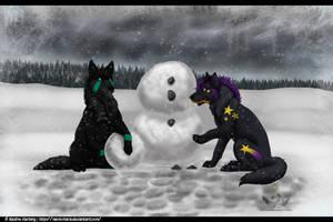 Snowman :Secret Santa: by NaokoHara