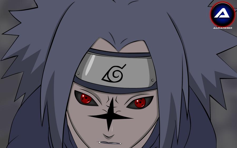 uchiha sasuke curse mark 2 by adrian69er on deviantart